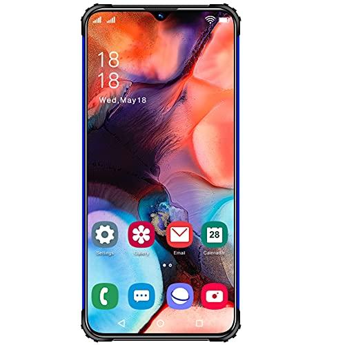 N1 - Teléfono móvil Gratuito con Android Smartphone 11 Ten-Core 5G, Pantalla 7.0 HD +, batería de 6800mAh, teléfonos celulares Baratos con SIM Dual de 4GB + 64GB (SD 128GB), cámara Triple de 32MP co