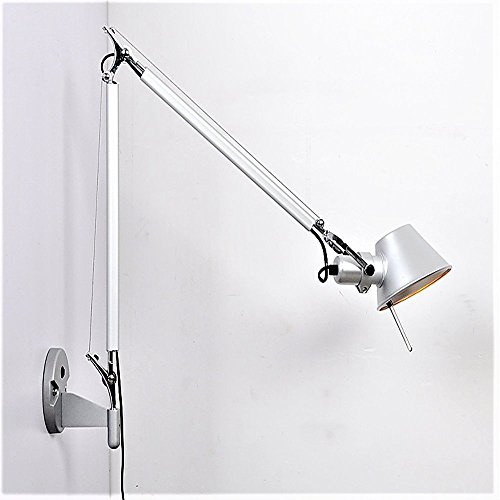 long wall sconce plug in - 8
