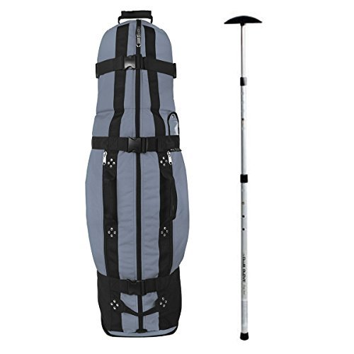Club Glove Last Bag Collegiate Golf Travel Cover w/Free Stiff Arm (Blue Steel)
