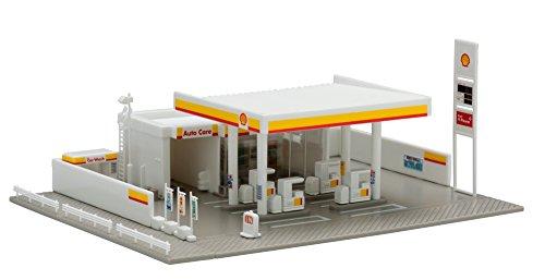 TOMIX Nゲージ ガソリンスタンド Shell 4072 鉄道模型用品