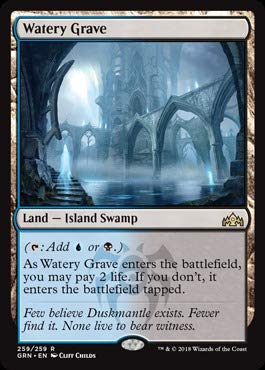 Magic The Gathering - Watery Graves (259/259) - Guilds of Ravnica