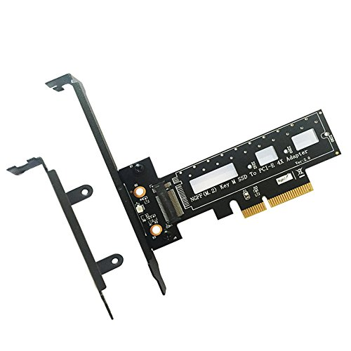 M.2 NGFF PCI-e SSD to PCI Express 3.0 x4 Host Adapter Card - Support M.2 PCIe (NVMe or AHCI) Type 2242 2260 280
