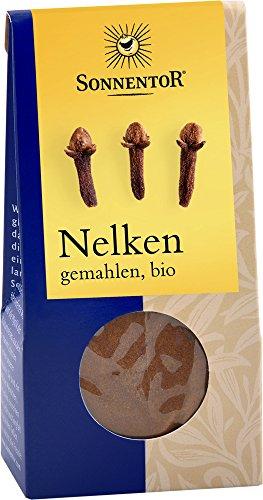 Sonnentor Nelken gemahlen, 1er Pack (1 x 35 g) - Bio