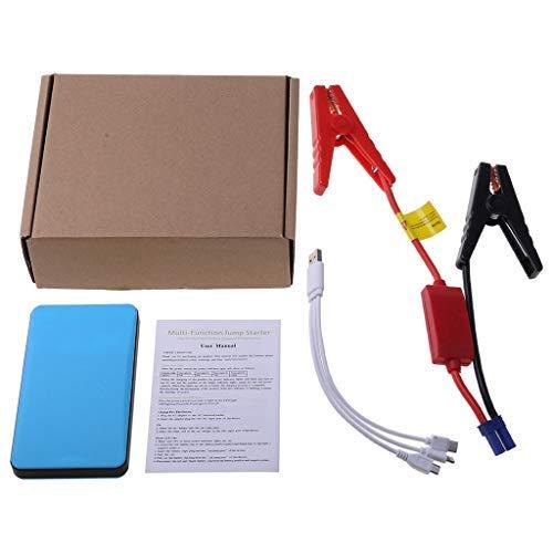 Metdek Arrancador portátil para coche, 12 V, 20000 mAh, batería multifunción, cargador de emergencia