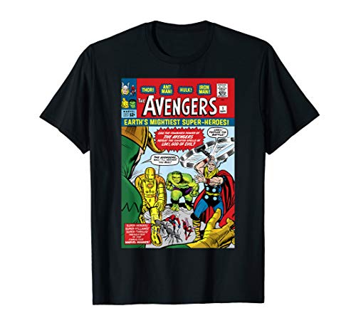 Marvel Avengers First Issue Comic Cover T-Shirt