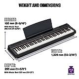 Zoom IMG-2 yamaha digital piano p 125b