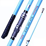 Seaquest Surfcasting Carbon Surf Rod 420cm Mix Fuji Blue Surf Fishing Rod