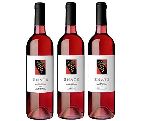 Enate Enate Cabernet Sauvignon - Monovarietal - Añada 2020 - D.O. Somontano - Vino Rosado - Afrutado - Aromas De Arándano, Frambuesa Y Pimiento - Paquete De 3 Botellas - 75Cl - 2250 ml