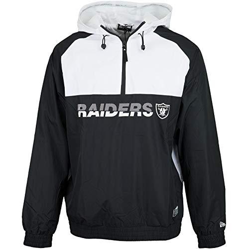 New Era NFL Block Windbreaker Jacke (M, Oakland Raiders)
