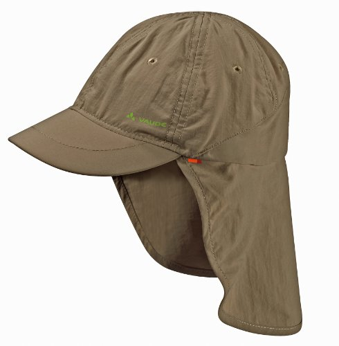 VAUDE Kinder Mütze Sahara Cap III, Wood, S, 03136