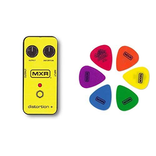 Jim Dunlop (ジム ダンロップ) MXRPT01 Distortion+ ピック & ピックケースセット Yellow