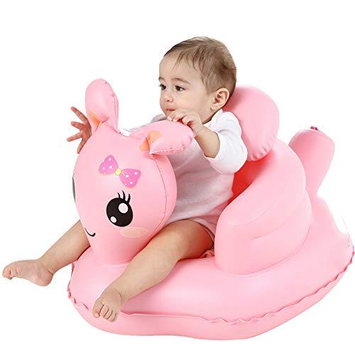anruo Meisje baby opblaasbare stoel kinderzitje sofa stoel dineren game pad sofa