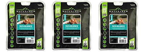 Wayfayrer Pasta e Bolognese - Piatti Pronti per Campeggio ed Escursioni