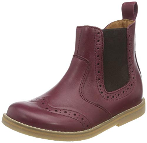 Froddo G3160119 Unisex-Child Chelsea Boot, Bordeaux, 32 EU