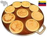 GauchogrillX Budare Pre-Curado 14' (36cm) Griddle Pre-Seasoned Comal Hecho en Venezuela