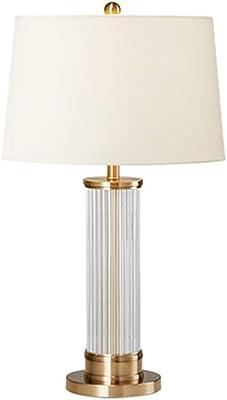 Amazon.com: Stone & Beam Lámpara de mesa moderna de madera ...