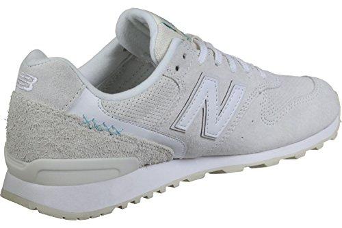 New Balance WR996-BH-D Sneaker voor dames, wit, 37,5 EU