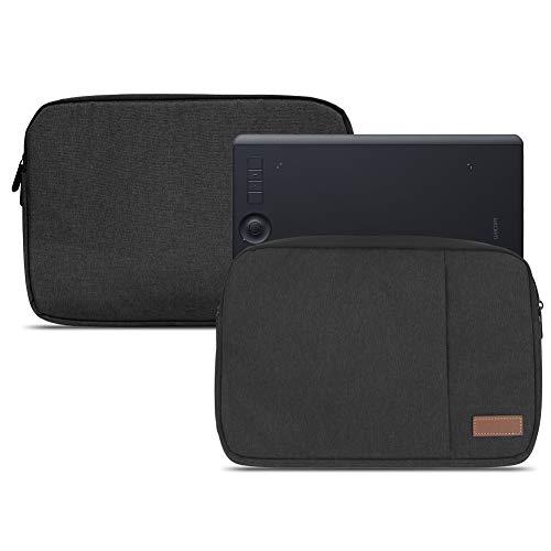 NAUC Grafiktablett Schutzhülle für Wacom Intuos Pro M PTH-660 PTH-650 Tasche Schwarz Grafiktablett Schutzhülle Hülle Cover Case