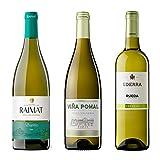 Pack degustación Vinos Blancos - Raimat Saira Albariño + Ederra Verdejo DO Rueda + Viña Pomal Blanco DOCa Rioja - 3x75cl