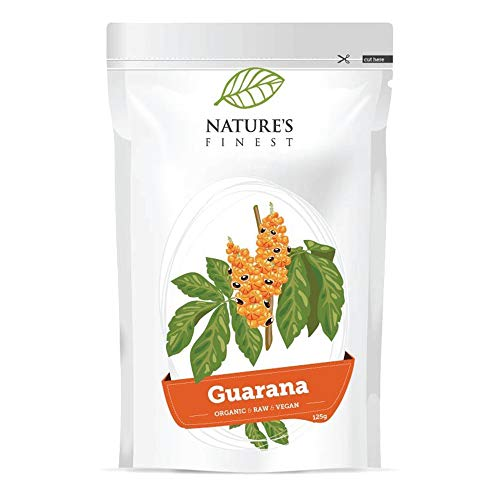 Bio Guarana Powder 125g | Organic and Raw Coffee Alternative | Vegan and Vegetarian Friendly