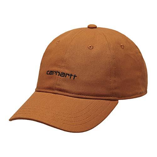 Carhartt I028876 Canvas Script cap - Gorro unisex de béisbol bordado, color marrón
