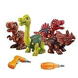 Tomar Apart Dinosaurio Taladro Niños Aprendizaje DIY Construcción Juguetes Con Regalo Eléctrico, Juguetes Dinosaurio, Un Regalo Para Niños