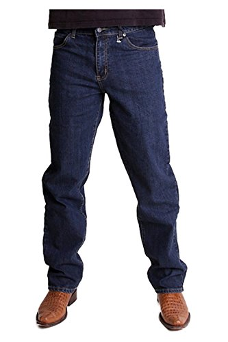 BUCK`s BJ27 Stretch-Jeans dark-blue-rinsed Seattle: Weite: w32 | Länge: L34