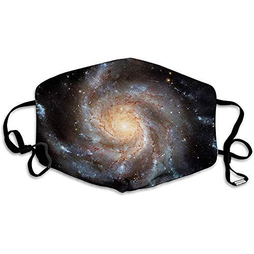 Galaxie, Sterne in der Galaxie Spiralplanet Weltraumnebel Astronomie Thema Bilddruck, Schwarz Beige Violett