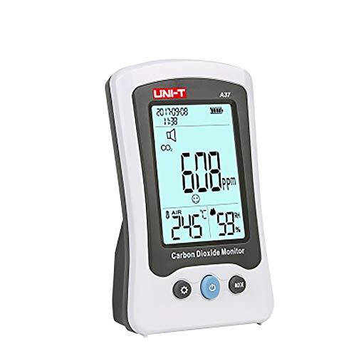 Clicke Luftdetektor Home Office Auto CO2 Monitordetektor Intuitive Emoticons Zeigen Die Luftqualität An USB Aufladen