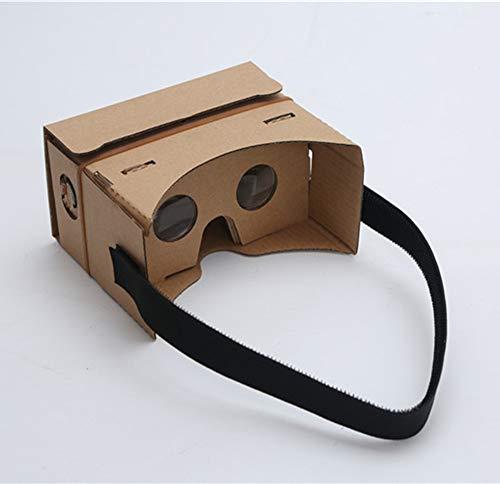 YUHUANG VR virtual reality 3D-bril, magische spiegel box smart game helm carton mobiele telefoon wordt de tweede 3D-4-6 inch
