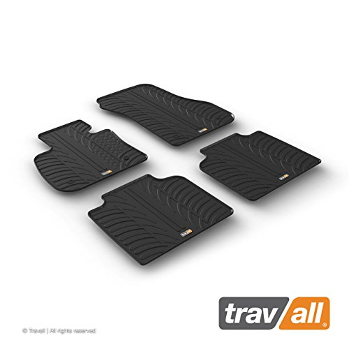 Travall Mats Gummifußmatten TRM1279 – Allwettermatten Nach Maß Fussmatten Set