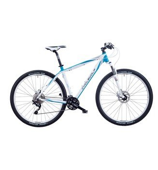 MTB CycleWolf Viper 29 30G pearlweiß/turquise Modell 2014, Farbe:Pearl White/Turquise;Rahmenhöhe:45