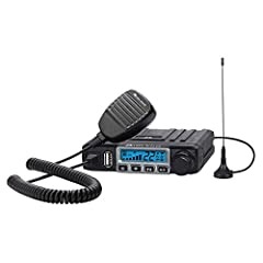 2-WAY RADIO - The 15 Watt MicroMobile walkie talkie is equipped with 15 High/Low Power GMRS channels and 8 Repeater Channels for increased communication range. EXTENDED RANGE - The MXT115 features a 50-mile communication range in open areas with litt...