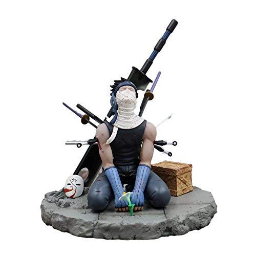 High 19cm Naruto Peach Land no cortó el hombre rojo nuevamente niebla Hidden Ghost Ghost Sculpture Gift Modelo Artwork Anime