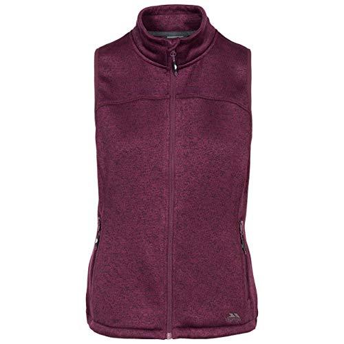 Trespass - Chaleco de Forro Polar para Mujer, 3200 g/m², Mujer, FAFLGIO10002_PPAXXS, Potent Purple Marl, XXS