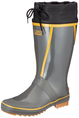 [ヘイギ] 長靴 レインブーツ アメ底 糸入り補強 カバー付き長靴 CM-2913 メンズ グレー 25.5 cm~26.0 cm