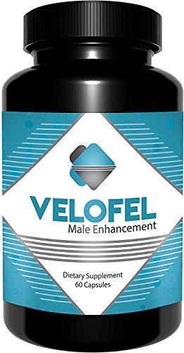 Velofel Male Enhancement Pills (Dietary Supplement) - 60 Count - 1 Month Supply
