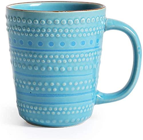 Juego de platos, Cerámica Sets Sets Azul, Cena de porcelana Conjuntos modernos con platos, tazones y tazas, combinación de mesa completa, microondas y lavavajillas Caja fuerte, Servicio para 4 persona