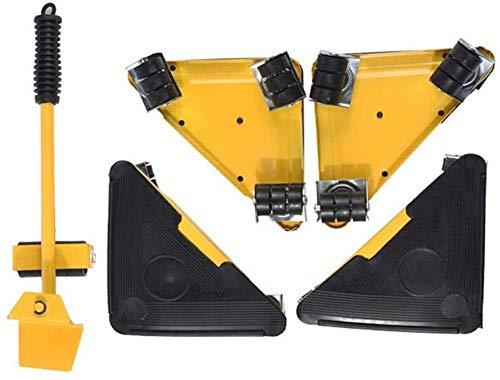 genneric 360 ° bewegliche Möbel Lifter bewegen Werkzeug-Set, einfach und sicher bewegen for Sofas, Waschmaschine, Möbel Sliders Tragfähigkeits Bis zu 250 KG