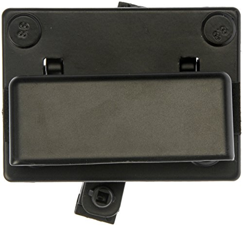 Dorman 77498 Exterior Door Handle for Select Cadillac / Chevrolet / GMC Models, Black