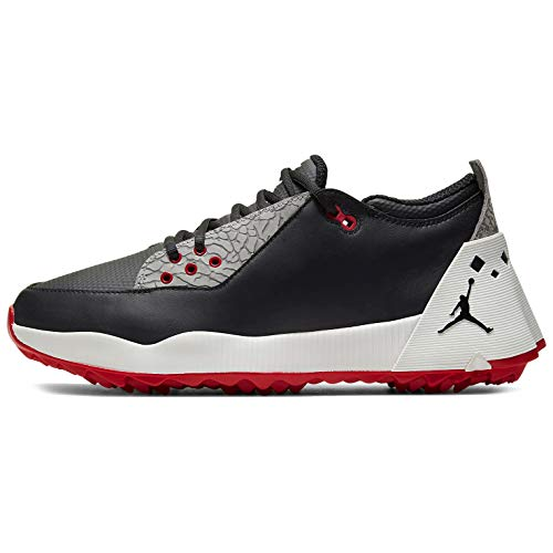 Nike Jordan ADG 2 Golf Shoe Black/Black-Summit White-University RED - 9