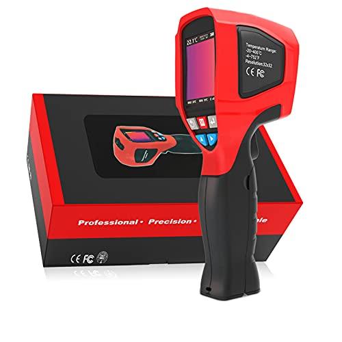 Cámara termográfica infrarroja, cámara termográfica de resolución 320x240, termómetro infrarrojo portátil de 2,4