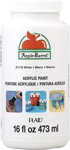 Apple Barrel Acrylic Paint White