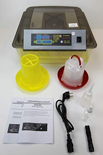 Campo24 Motorbrüter autom Wendung Brutapparat, Inkubator, für bis zu 112 Eier Inkubator (Berta 56 PRO)