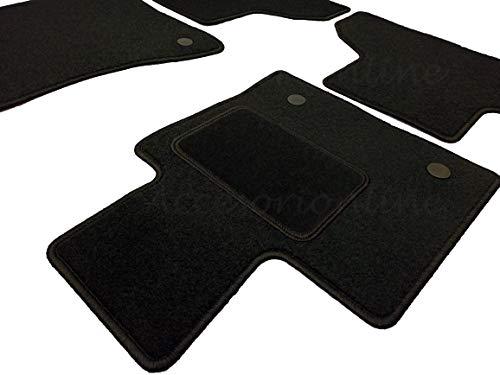 Accesorionline Alfombrillas para BMW X5 Todos los Modelos - alfombras esterillas a Medida con talonera E53 E70 F15 G05 X5 (2007-2013) E70