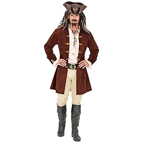 WIDMANN Widmann-30036 Disfraz, abrigo, pirata, fiesta temtica, carnaval, multicolor, extra-large/xx-large (30036)