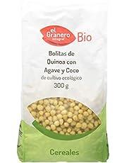 Granero Bolitas De Quinoa Con Agave Y Coco 300 Gramos Envase De 300 Gramos 300 ml