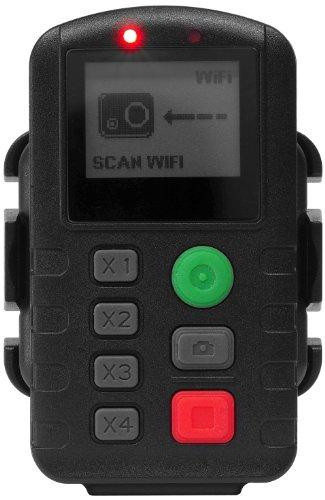 eYecam Telecomando Wi-Fi con Display Integrato per Sport, Nero