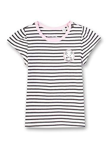 Sanetta Baby-Mädchen T-Shirt, Beige (Beige 1829), 92 (Herstellergröße: 092)