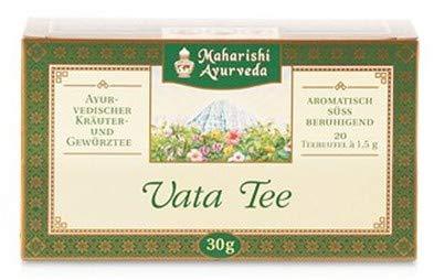 Maharishi Ayurveda Té de hierbas Té Vata con especias de alta calidad 30g / 20 bolsitas de té